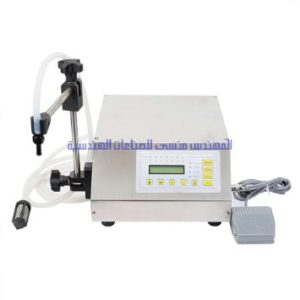 DIGITAL SEMI AUTOMATIC LIQUID FILLING MACHINE