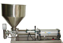 SEMI AUTOMATIC PASTE FILLER